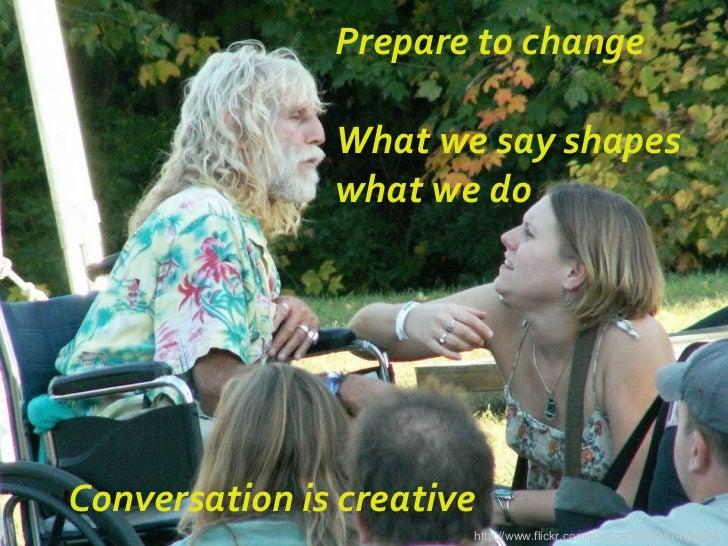 Art of conversation Slide 3