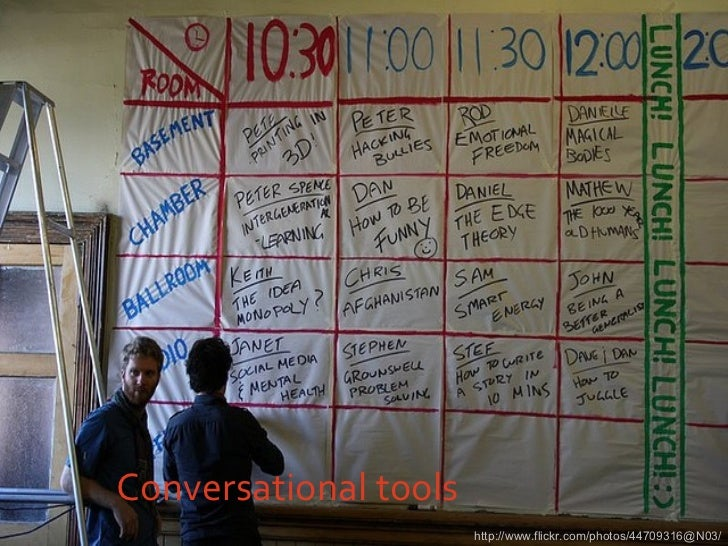 Conversational tools http://www.flickr.com/photos/44709316@N03/
