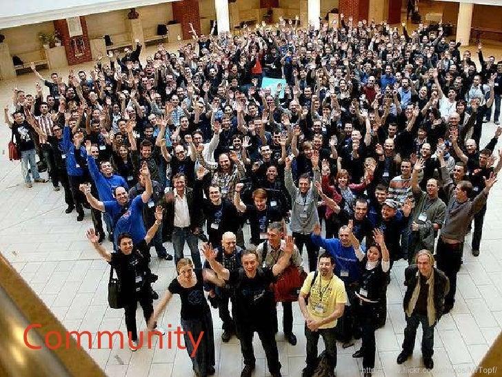 Community http://www.flickr.com/photos/MrTopf/