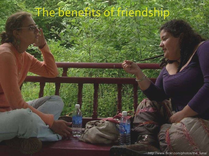 The benefits of friendship http://www.flickr.com/photos/the_luna/