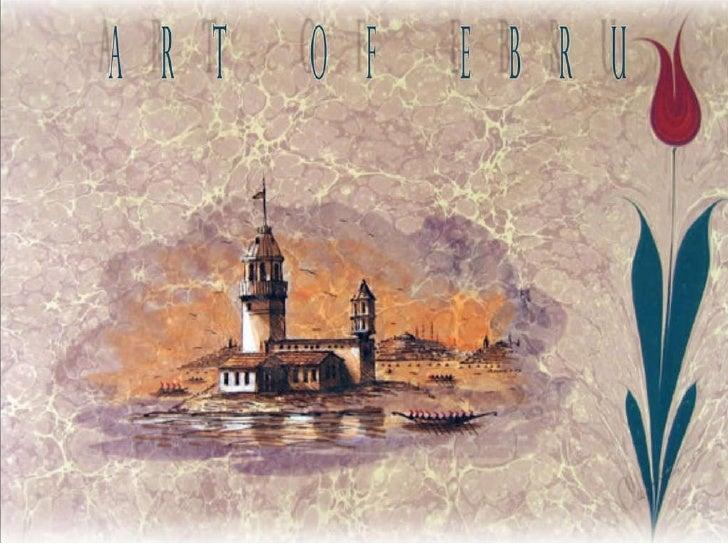ART OF EBRU