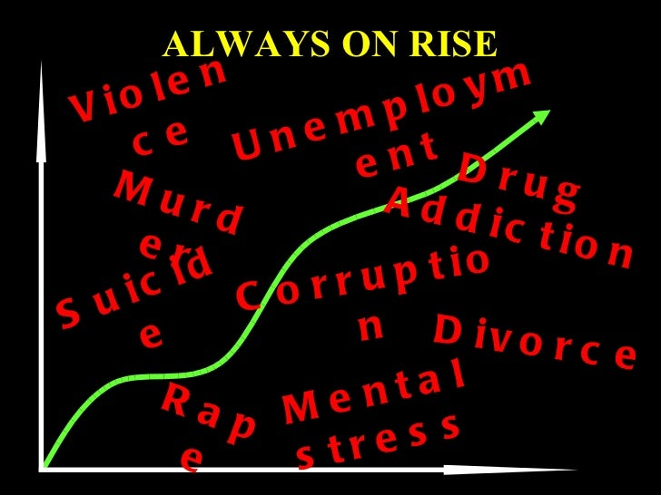 unemployment violence and pollution the three major problems in the society today Three percent of americans polled in march thought the biggest problem americans face was a growing disproportion between the rich and the poor, and the effect it might have on the nation's middle .