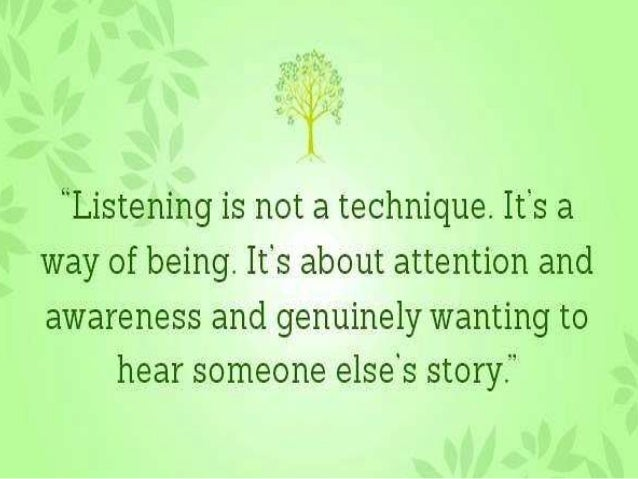 But there are a few simple and  basic steps that are very  important for the action. Those  basic steps are first Listen  ...