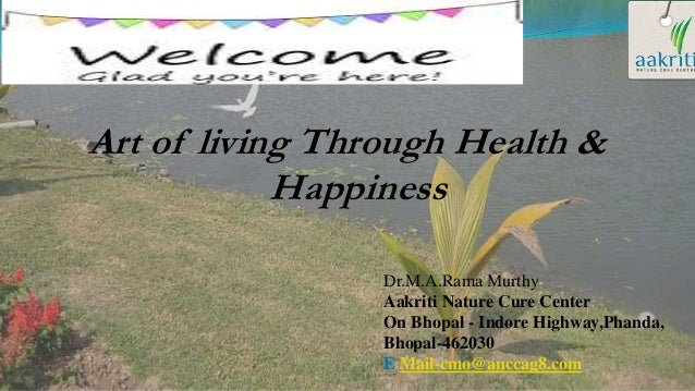 Art Of Living With Health Happiness