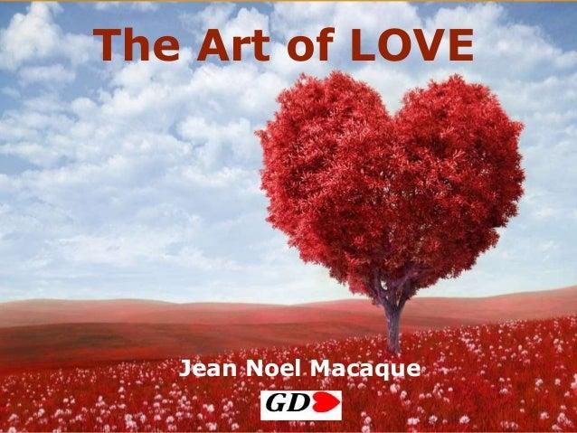 The Art of LOVE Jean Noel Macaque