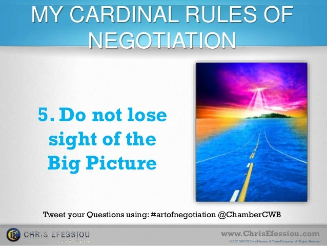 the big five negotiation If you know your worth, then you should scroll down and read these 5 salary  negotiation secrets that can help you to get perfect figures in your.