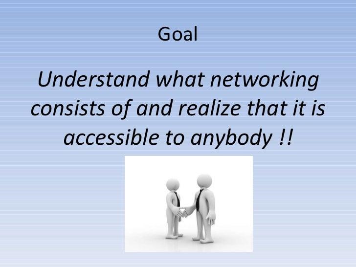 Art of networking Slide 2