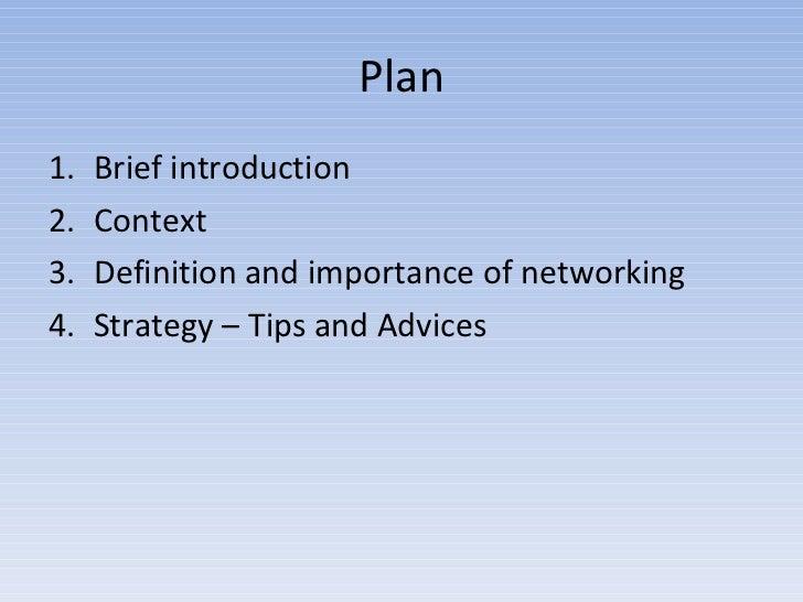 Art of networking Slide 3