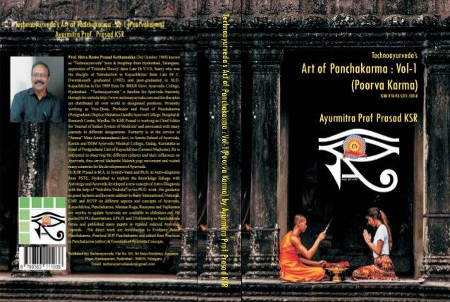 Technoayurveda'sArtofPanchakarma:Vol-1(PoorvaKarma)byAyurmitraProfPrasadKSR