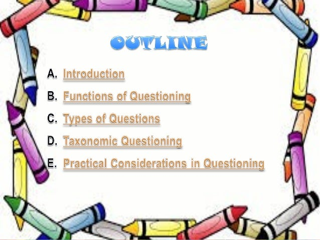 Art of Questioning Slide 3