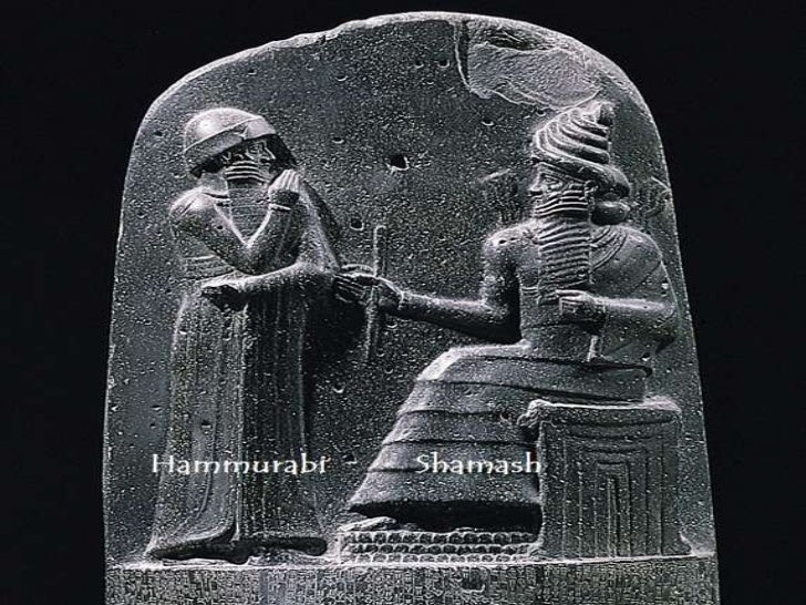 the code of hammurabi one of One of the earliest monuments records the purchase by a king of a large estate for his son, paying a fair market price and adding a handsome honorarium to the the code of hammurabi, editio princeps, by v scheil in tome iv of the textes elamites-semitiques of the memoires de la.
