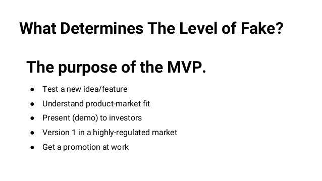 The Art of the Minimum Viable Product (MVP)