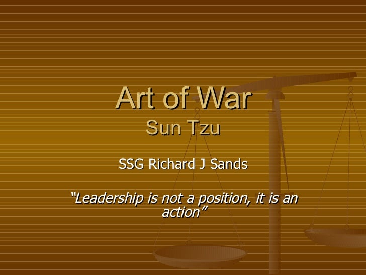 sun zi art of war pdf
