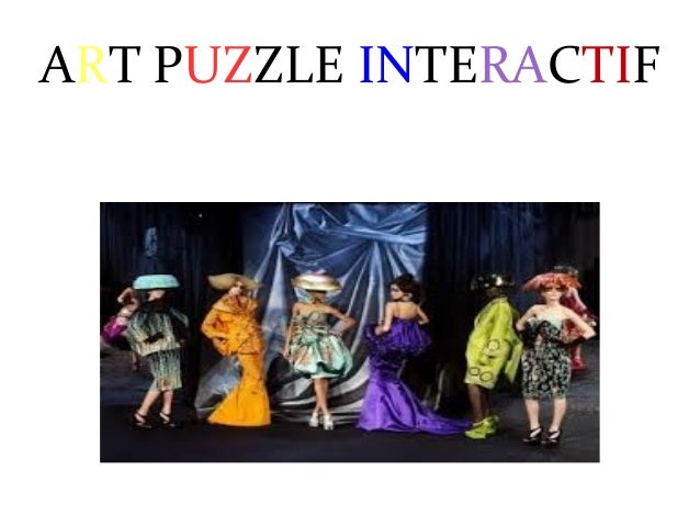 ART PUZZLE INTERACTIF