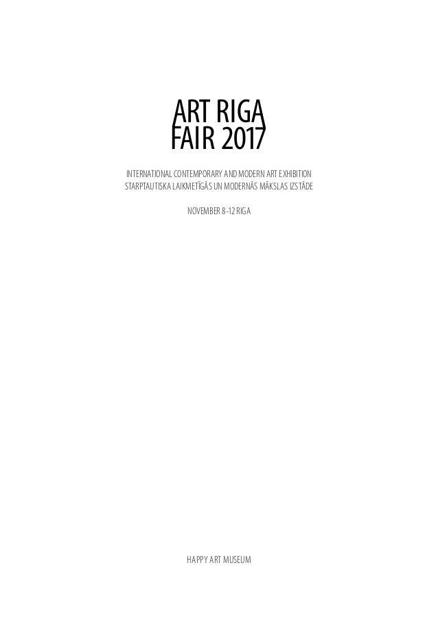 INTERNATIONAL CONTEMPORARY AND MODERN ART EXHIBITION STARPTAUTISKA LAIKMETĪGĀS UN MODERNĀS MĀKSLAS IZSTĀDE NOVEMBER 8-12 R...