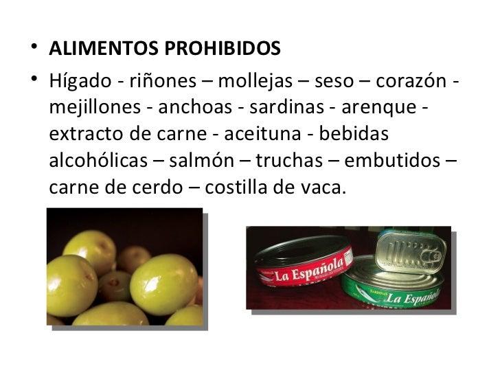 Artritis gotosa - Alimentos prohibidos vesicula ...