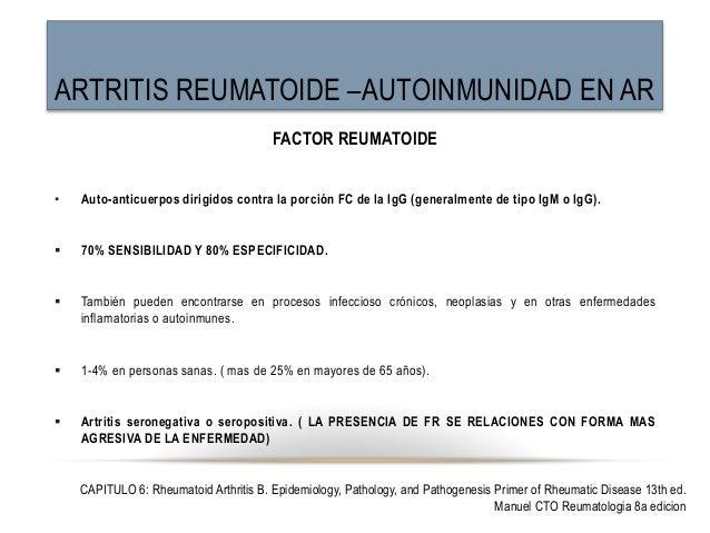 Artritis seronegativa