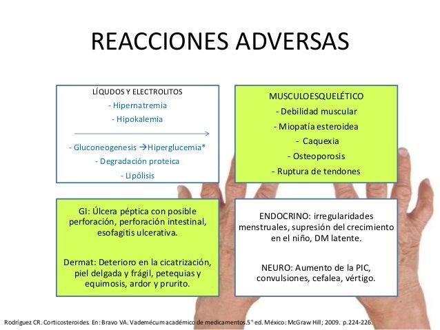 miopatia esteroidea pronostico