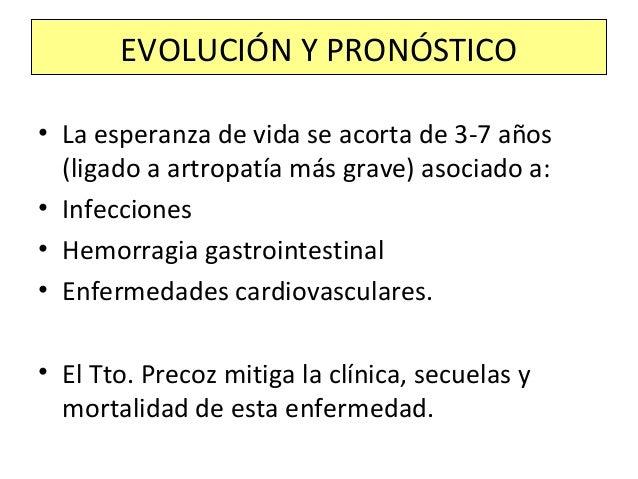 Sinovitis en al menos una localización + exclusión de otras causas + 6 o mas puntos en la siguiente clasificación: –Número...