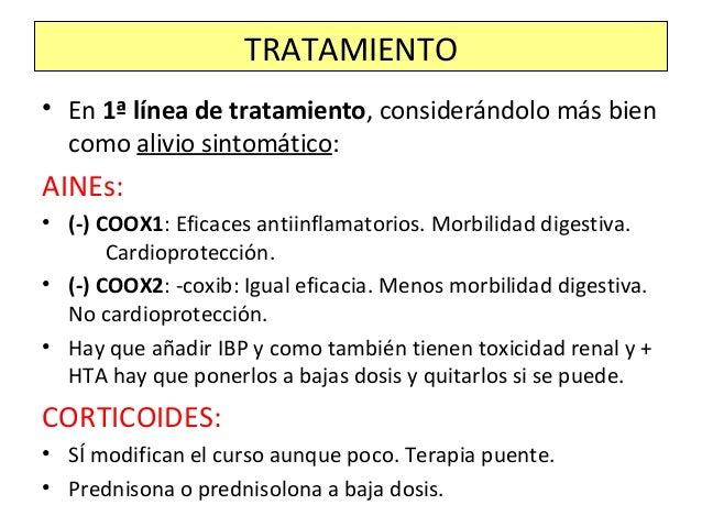 • CONVENCIONALES DE ACCIÓN LENTA: • Sólo se siguen utilizando la hidroxicloroquina y la sulfasalazina. • Cada vez se utili...