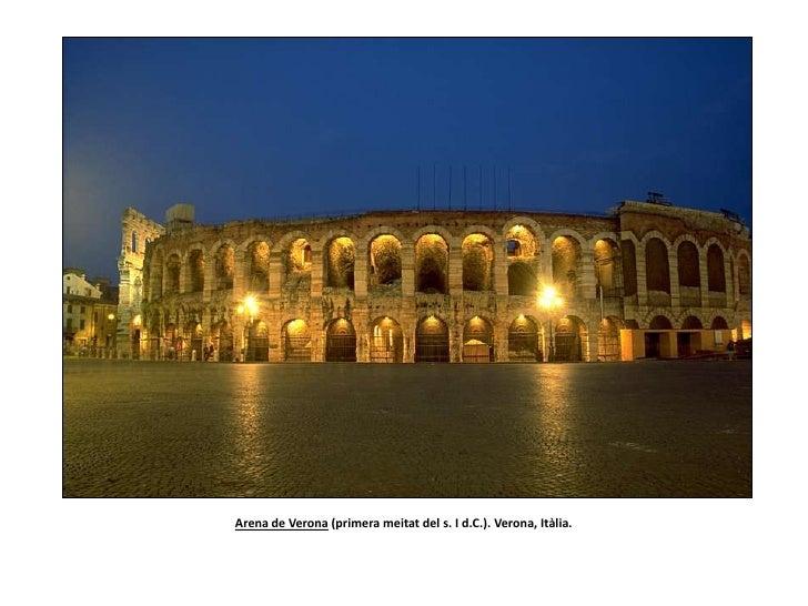 Arena de Verona (primera meitat del s. I d.C.). Verona, Itàlia. <br />