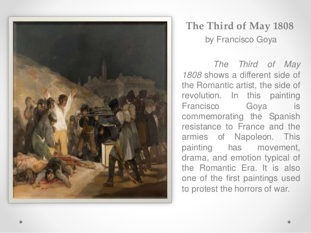 analysis of fransisco goyas the third Analysis of goya's el tres de mayo the battle of the nudes and francisco goya's third of may the artworks of antonio of paintings goyas third.