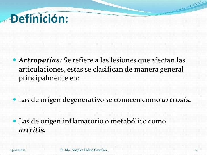 Artropatias Slide 2