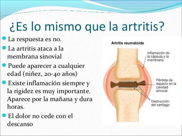 osteoartrosis y osteoartritis es lo mismo