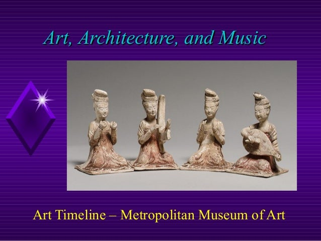 Art, Architecture, and MusicArt, Architecture, and Music Art Timeline – Metropolitan Museum of Art