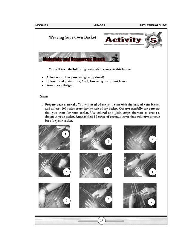k to 12 grade 7 learning module in arts rh slideshare net Maple Learning HTVN Maple Learning Center