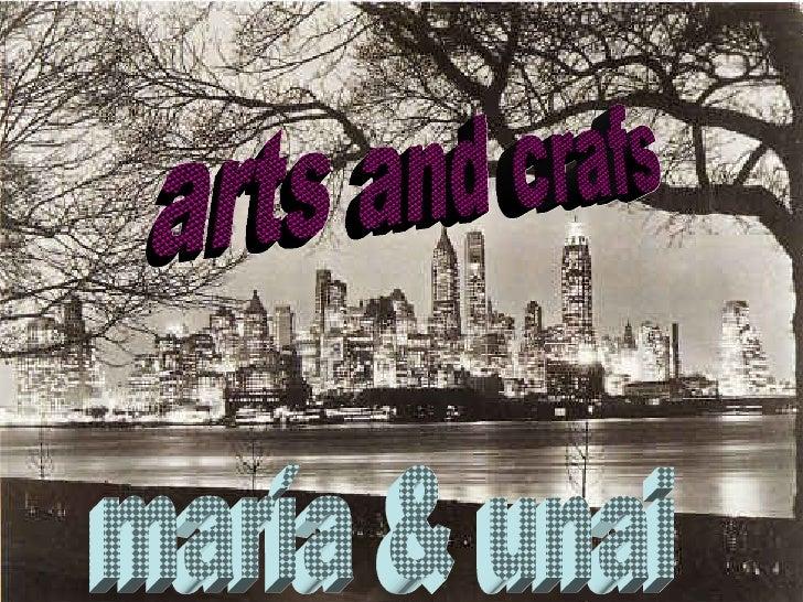 arts and crafs maría & unai