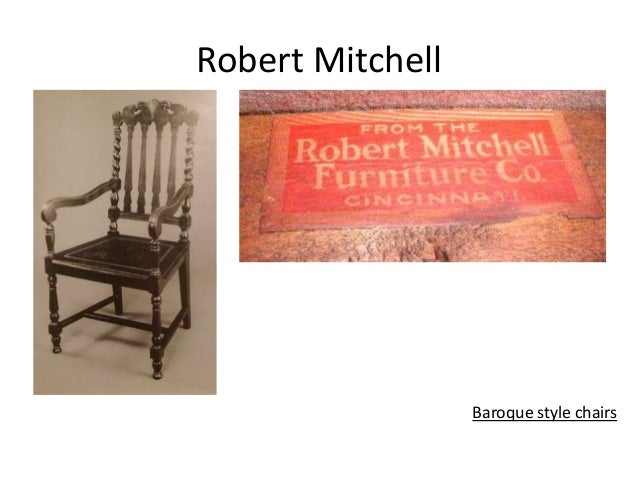Robert Mitchell Baroque Style Chairs ...