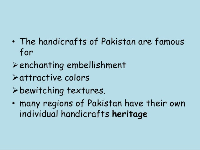 Arts And Crafts Of Pakistan