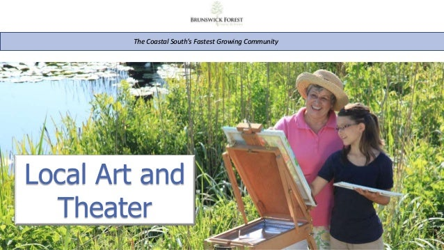 The Coastal South's Fastest Growing Community Local Art and Theater