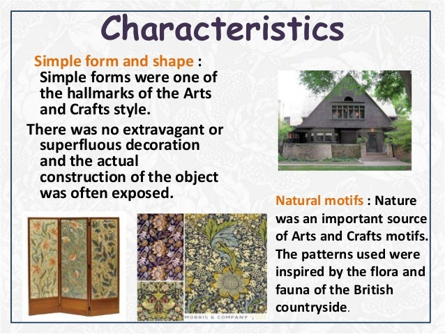 Arts and crafts furniture characteristics crafting - Craftsman style house characteristics ...