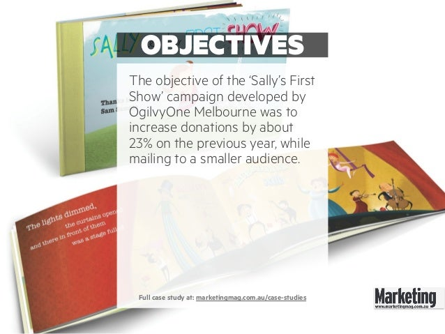 Direct marketing campaign case studies