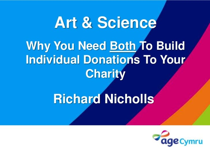 1382e9a04e7 Art and science: Why you need both to build individual donations to y…