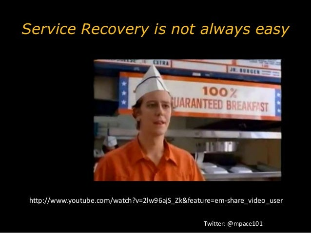 The Art & Science of Service Recovery Slide 3
