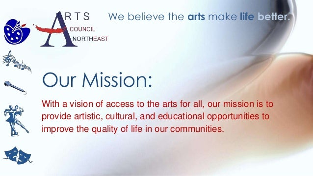 With a vision of access to the arts for all, our mission is to provide artistic, cultural, and educational opportunities t...