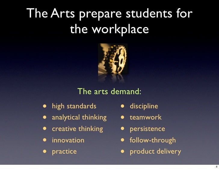 importance of art education in high These studies reveal how art education (most notably the role of the fine and performing arts in high 10 salient studies on the arts in education.