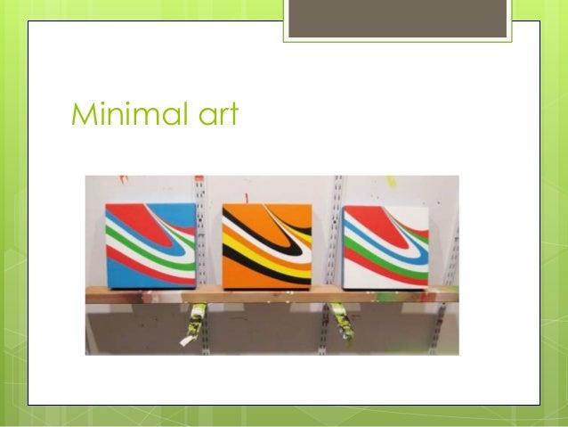 Arts iv for Minimal art slideshare