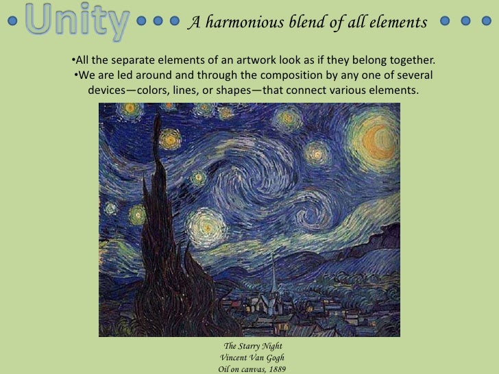 Principles and Elements of Art Slideshow