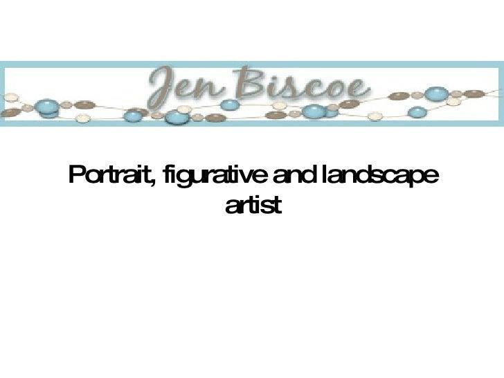 Portrait, figurative and landscape artist