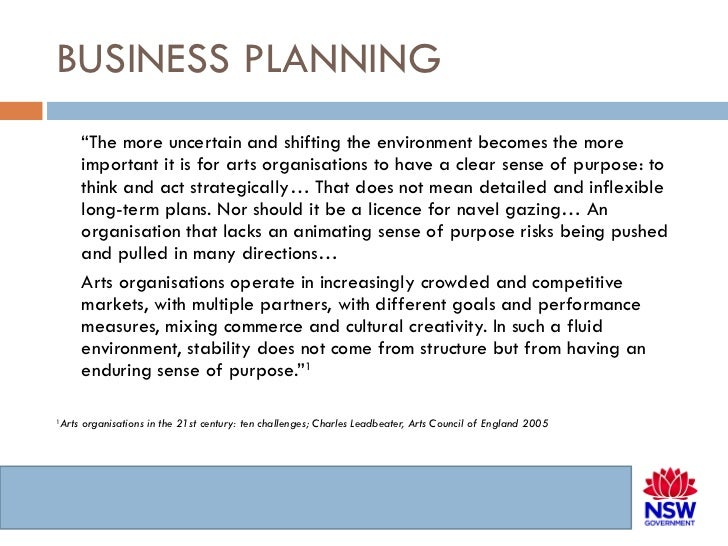 Business Plan Section 9: Appendix