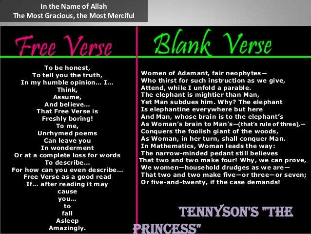 verse writing