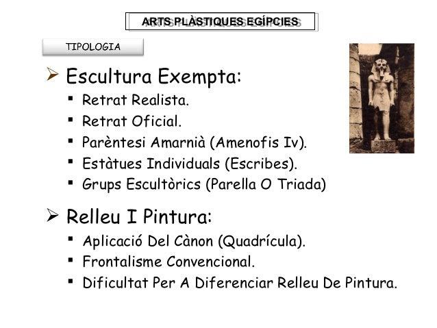 Escultura i pintura egipcia 2 for Arquitectura tecnica ull