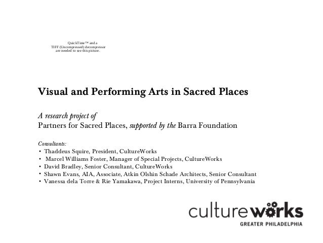 QuickTime™ and a TIFF (Uncompressed) decompressor are needed to see this picture. Visual and Performing Arts in Sacred Pla...