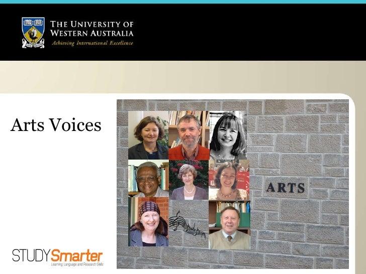 Arts Voices