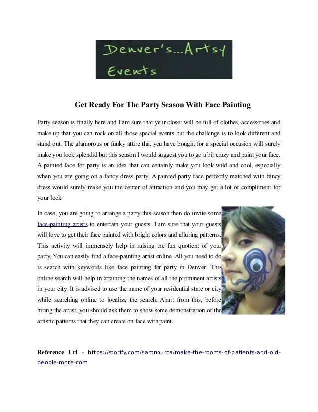 Face Painting Pdf
