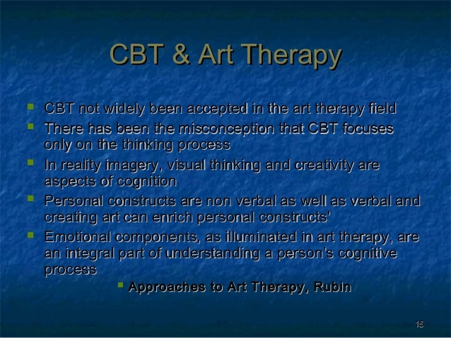 Art therapy cbt presentation revised art therapy 14 15 toneelgroepblik Gallery